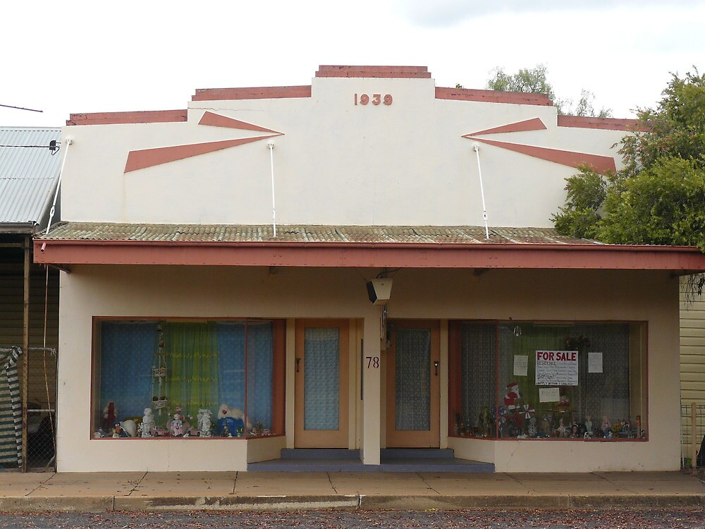 Shop, Mendooran by Joan Wild