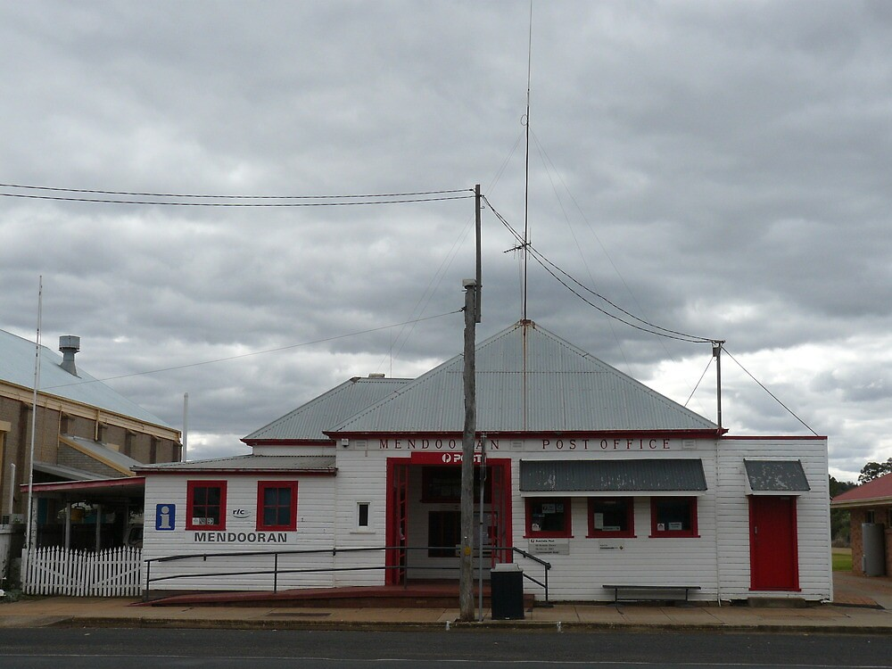 Post Office, Mendooran by Joan Wild