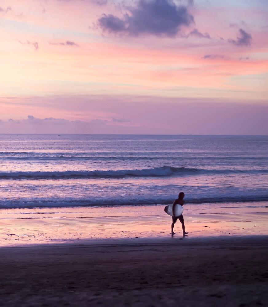 Sunset Surfer by jaymephoto