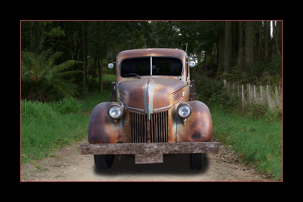 Old Ford Truck by Keith Hawley