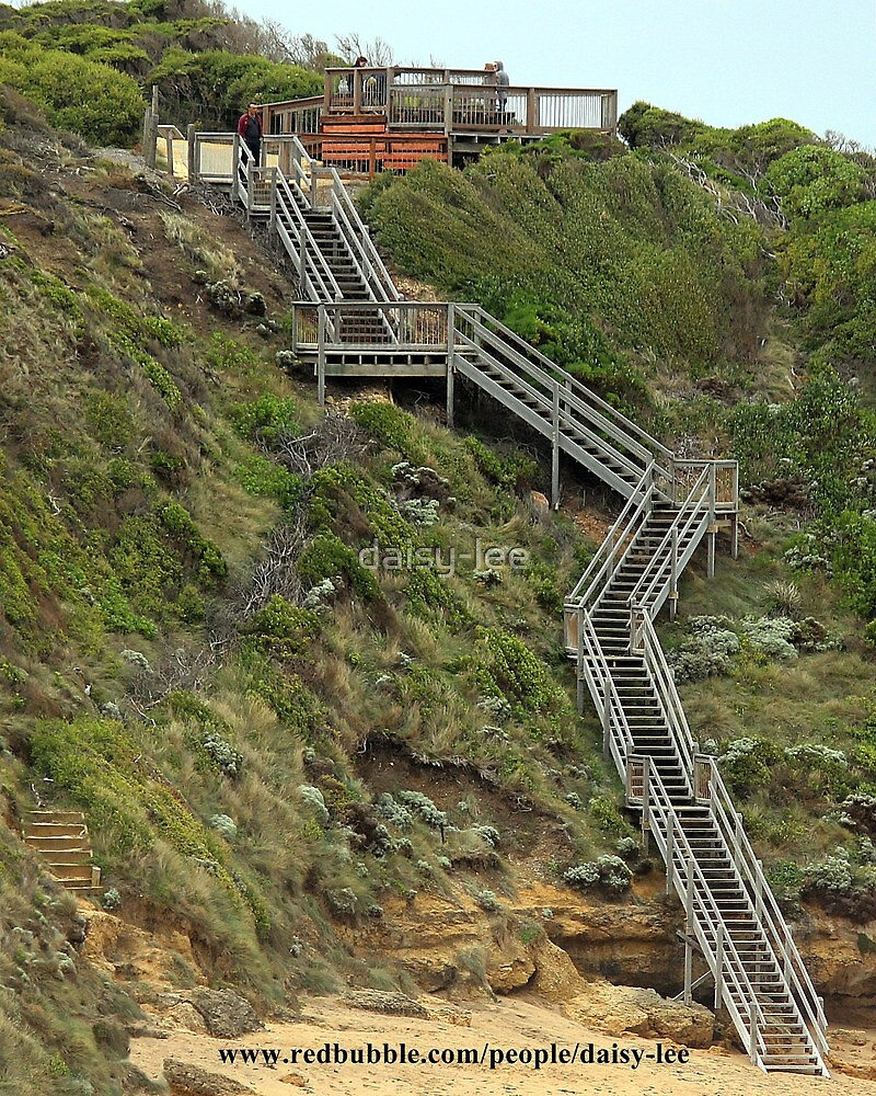 Bells Beach 86 steps down by daisy-lee