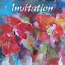 Invitation Cards - Art - Flowers by Ballet Dance-Artist