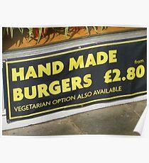 Hand Or Veg Poster