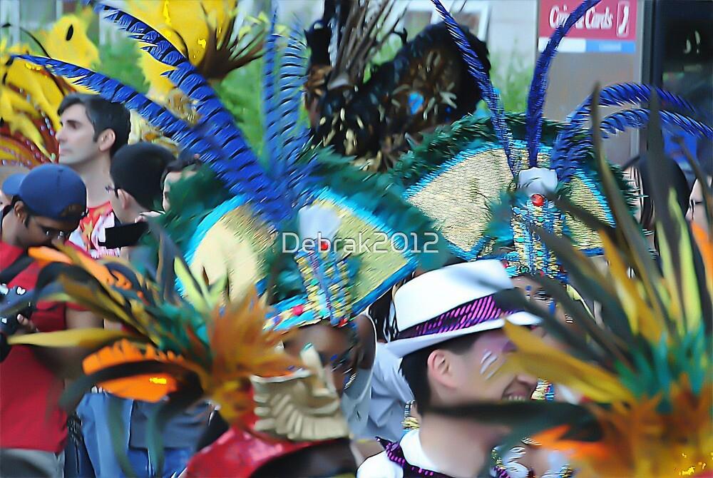 Carnival feathers  by Debrak2012
