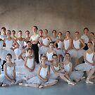 Ballet Group by Lawrence Winder
