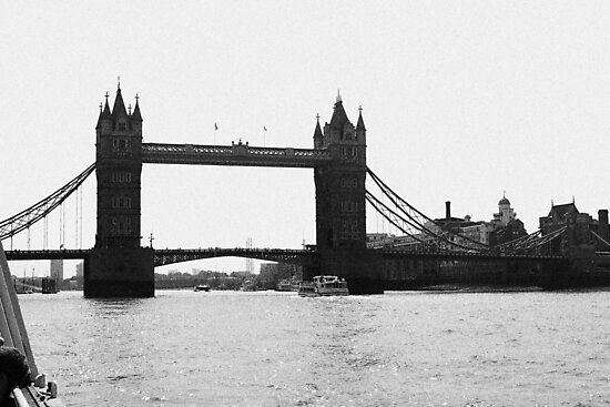 Tower Bridge by Lillie Halton