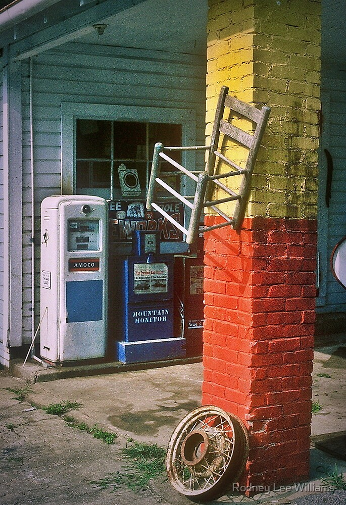 Pit Stop by Rodney Lee Williams