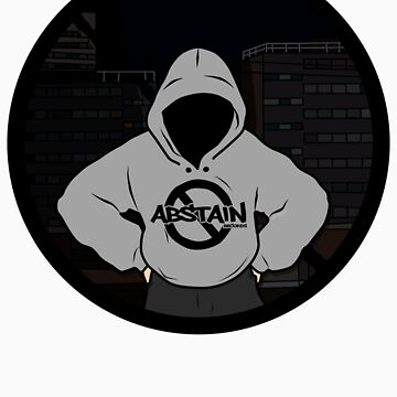 Abstain Records Hoody Logo by AbstainRecords