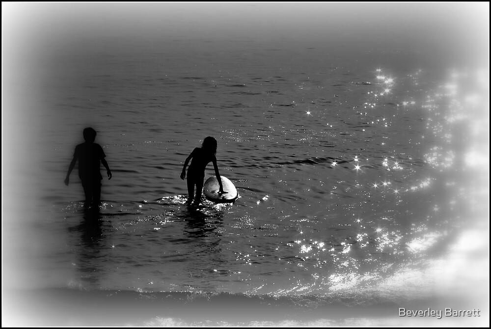 Crackington Surfers by Beverley Barrett