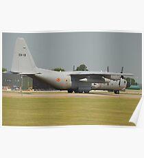 Belgian Air Force C130H Poster