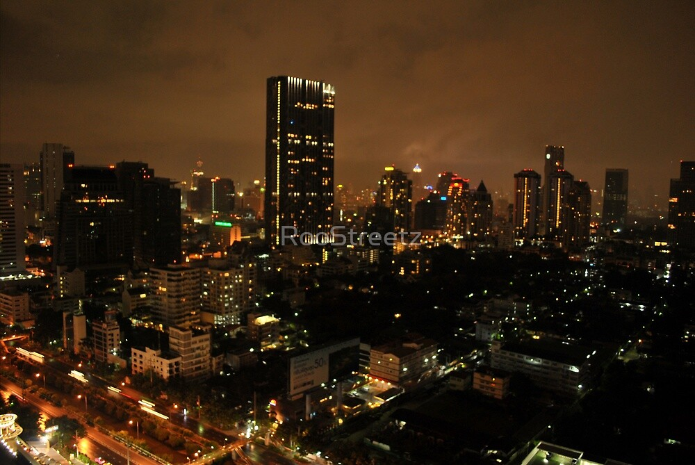 Bangkok by Night  by RooStreetz