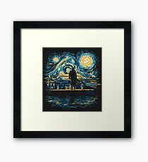 Starry Fall (Sherlock) Framed Print