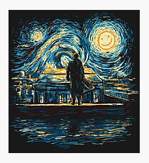 Starry Fall (Sherlock) Photographic Print
