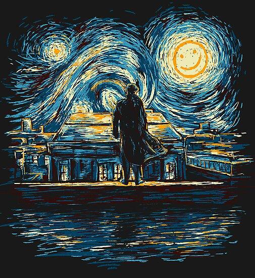 Starry Fall (Sherlock) by girardin27