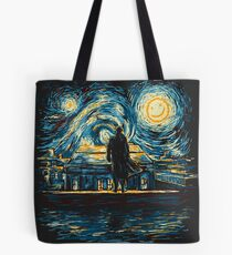 Starry Fall (Sherlock) Tote Bag