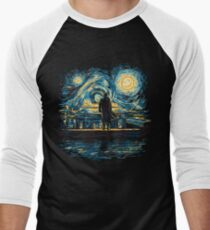 Starry Fall (Sherlock) Men's Baseball ¾ T-Shirt