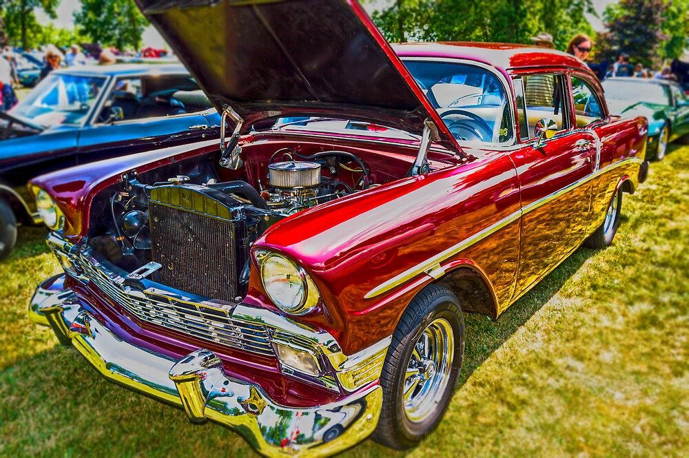 56 Chevy Classic by James Meyer