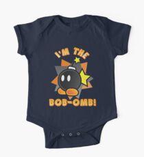 I'm the Bob-omb! Super Mario Baby Body Kurzarm