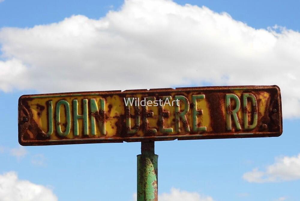 John Deere Road by WildestArt