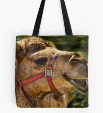 Camel Smiles Tote Bag