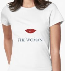 The Woman Version 2 Women's Fitted T-Shirt