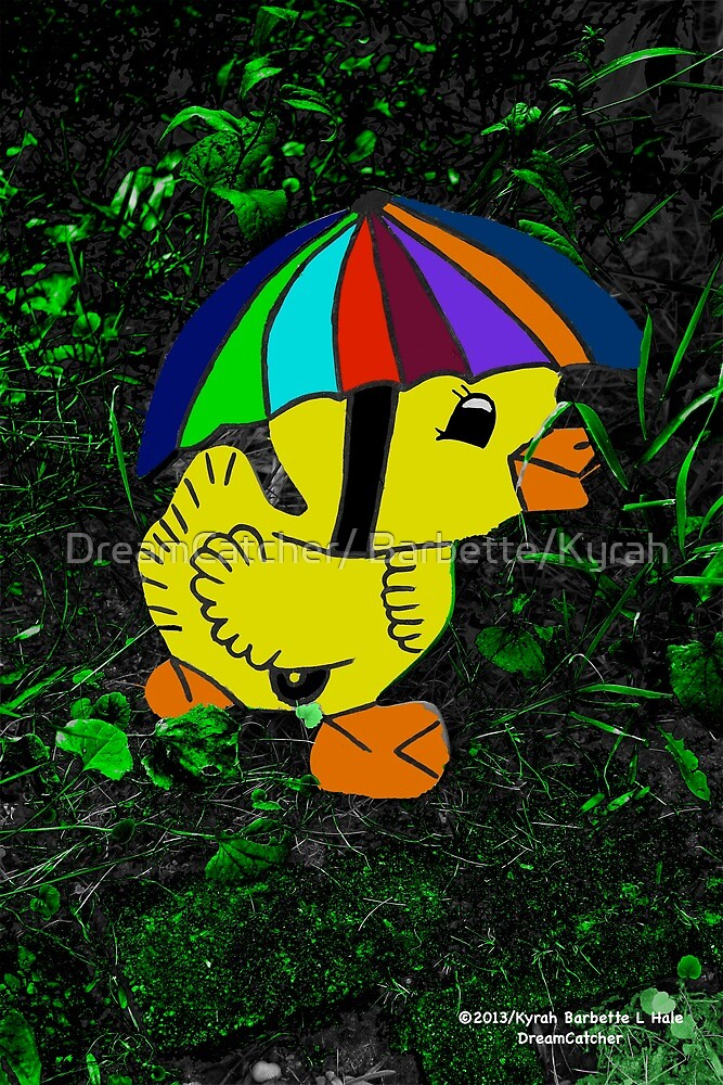 Duckling with umbrella  by DreamCatcher/ Kyrah