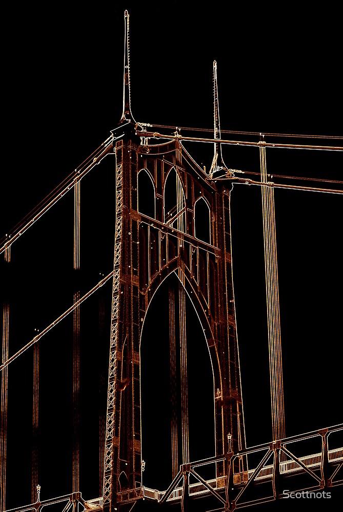 St Johns Bridge # 1 by Scottnots
