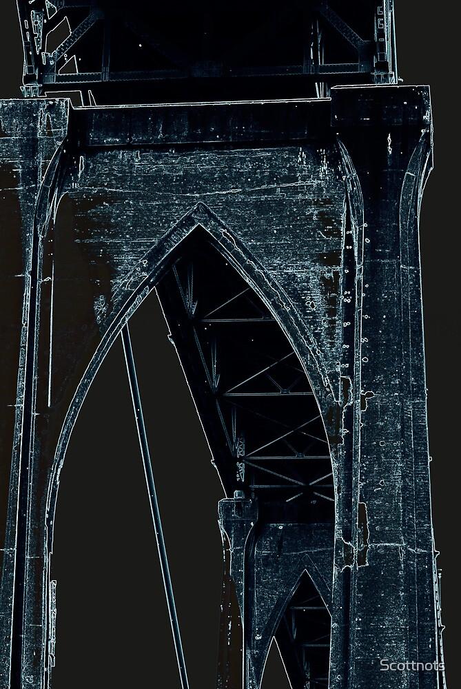 St Johns Bridge # 5 by Scottnots
