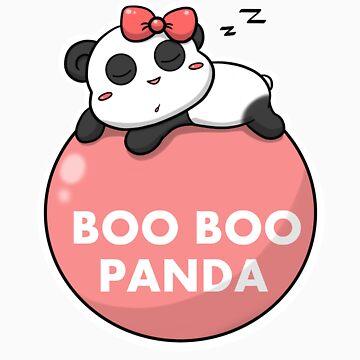 BOO BOO PANDA - No2 by Spardia