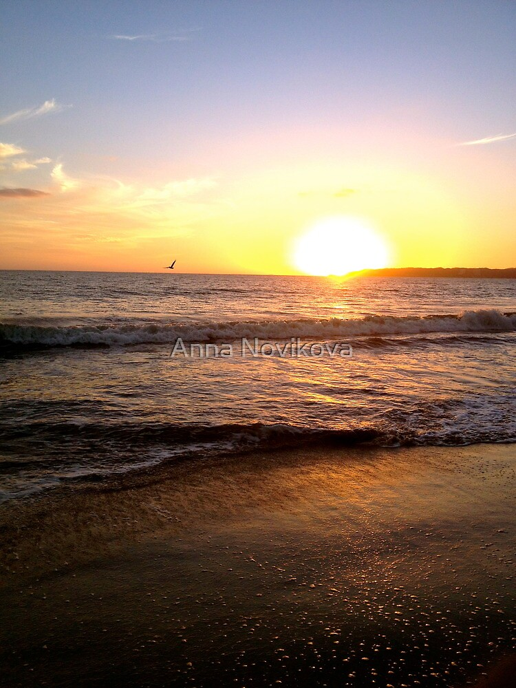 Sunset by Anna Novikova