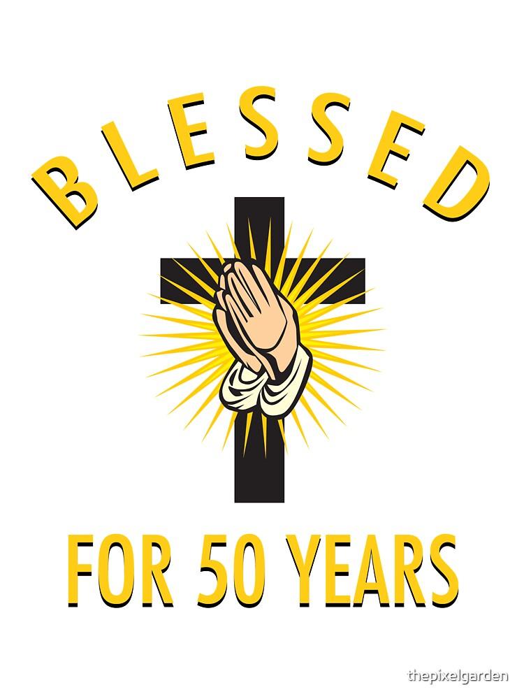 Religious 50th Birthday Gift by thepixelgarden