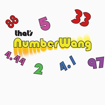 Numberwang T-shirt by TeasandMore