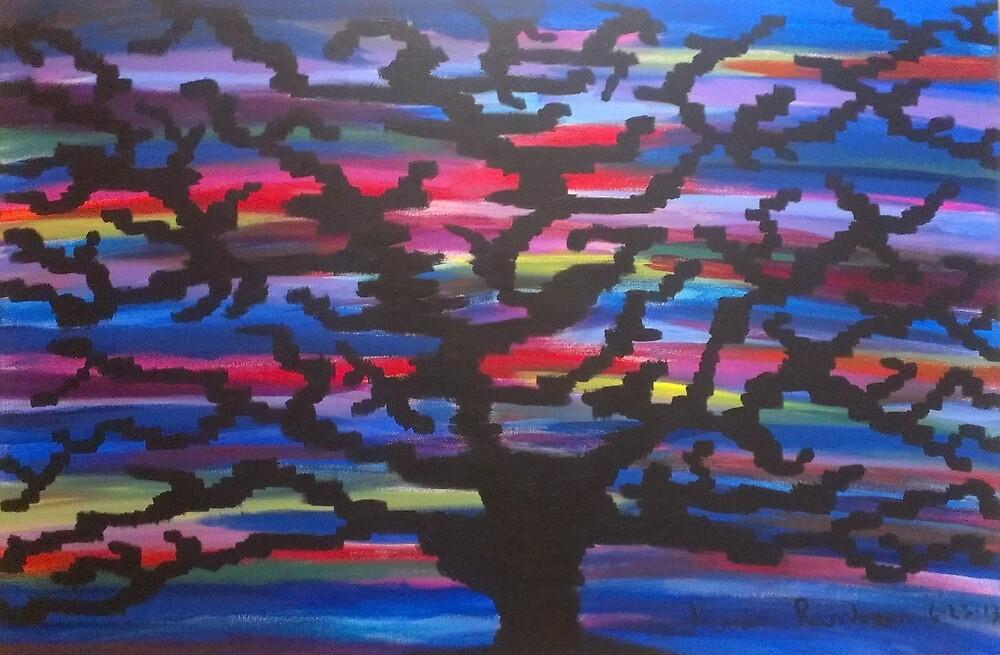 Knowledgeable Origin Tree Silhouette by KevinRamlogan