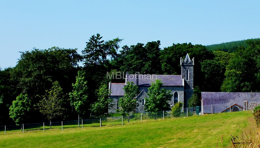 Church  Co.Wicklow by MBLothian