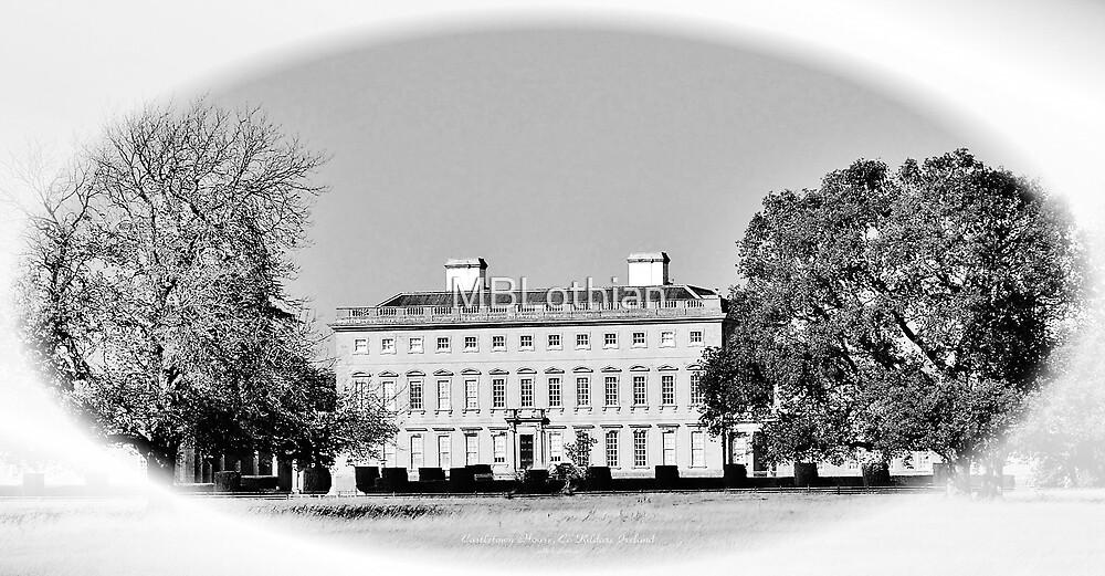 B&W Castletown House by MBLothian