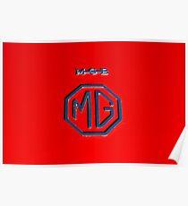 MG Badge Poster