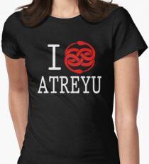 I (Auryn) Atreyu Womens Fitted T-Shirt