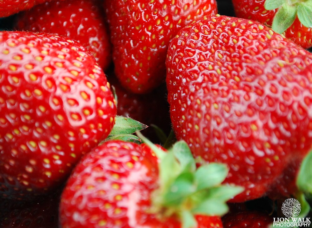 Fresh Strawberries by Jalil al-Hamza