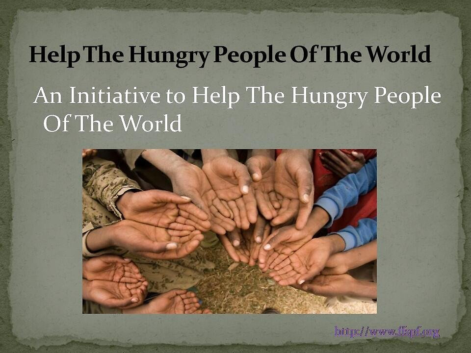 Helping the hungry by FFSPF