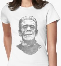 Franky goes to the Hollywood Cemetary Women's Fitted T-Shirt