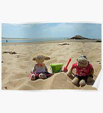 Life's a beach Poster