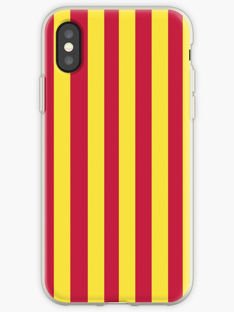 Barcelona 2014 Jersey Pattern iPhone Case by TheTubbyLife