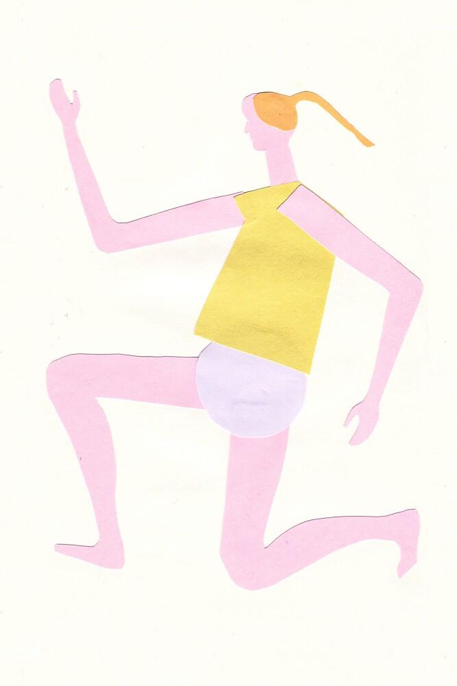 running girl by maybemary