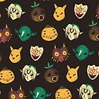 pattern of masks by louros
