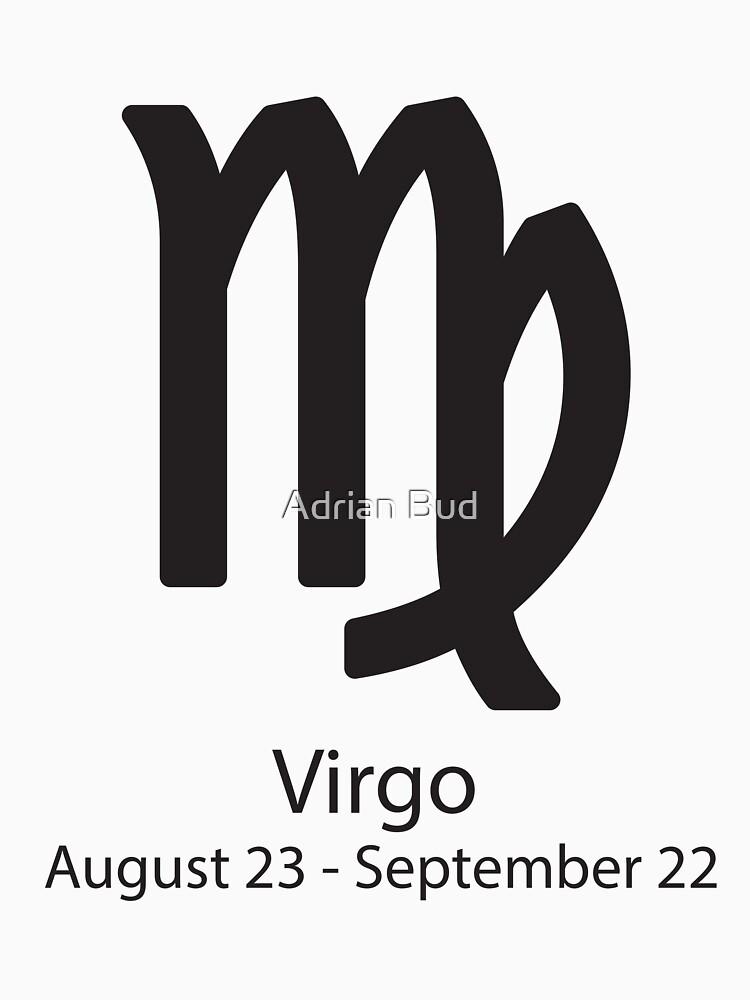 Zodiac Sign Virgo August 23 September 22 Classic T Shirt By
