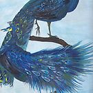 Peacocks by sharmabob
