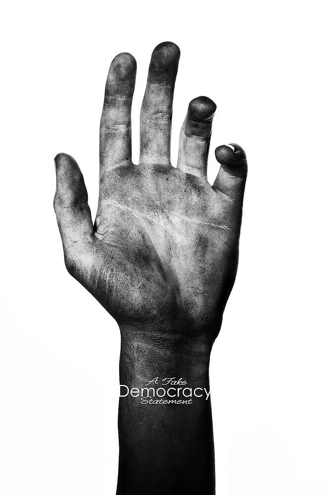 A fake Democracy Statement by liberalarts
