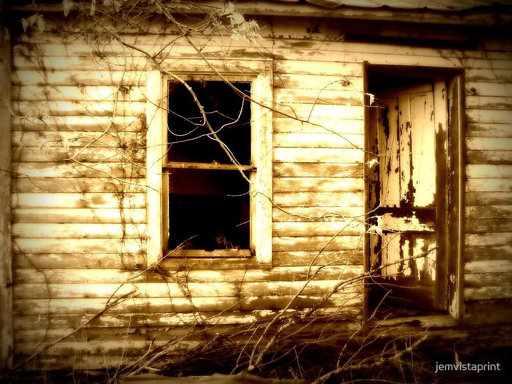 Open Door rustic abandoned house photo by jemvistaprint
