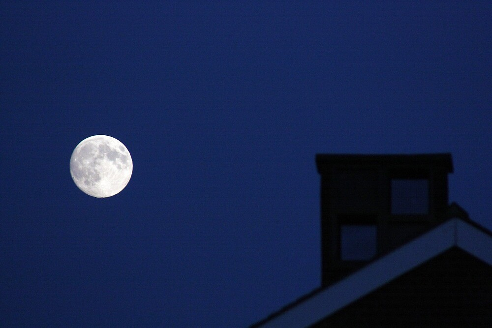 July 21st Moon 2013 by BMichael