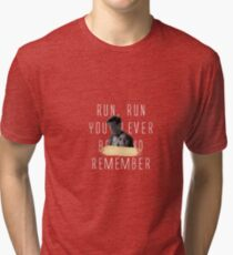 Run and Remember Tri-blend T-Shirt